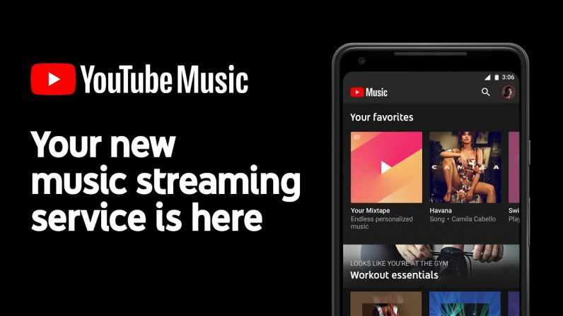 youtube, music, google, spotify, tidal