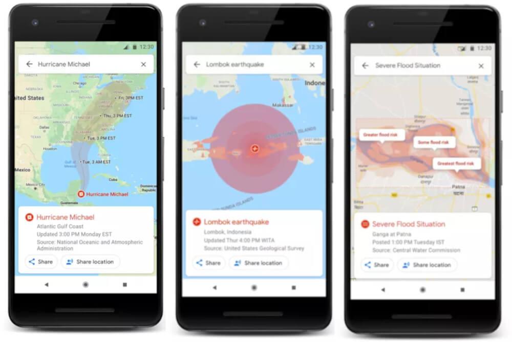 Google Maps kataklizmy
