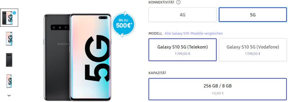 Samsung Galaxy S10 5G Niemcy