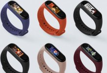 xiaomi, mi band 4, nfc,