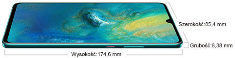 Huawei Mate 20 X 5G wymiary