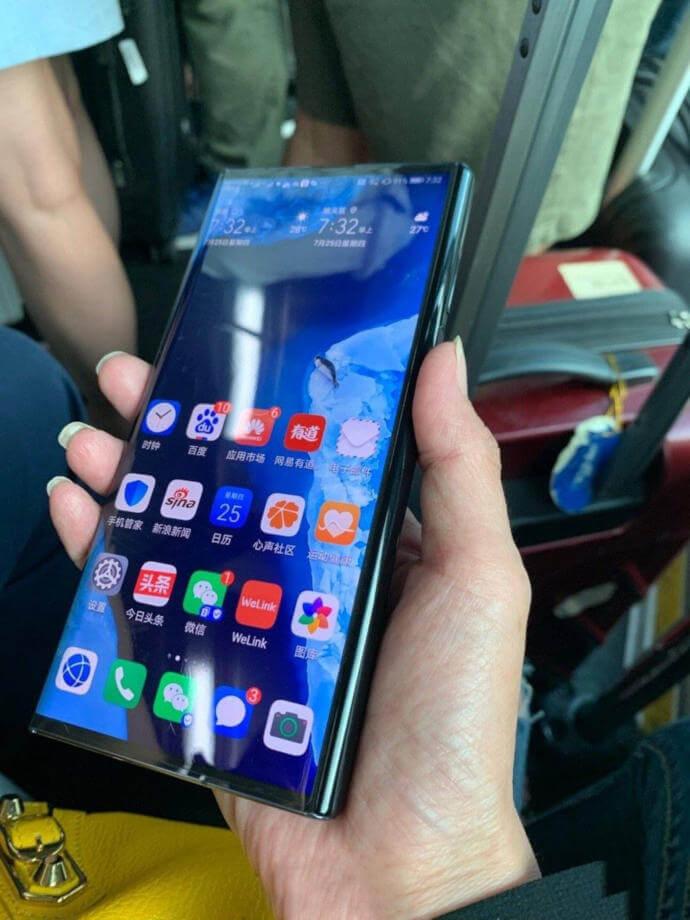 Richard Yu Huawei Mate X