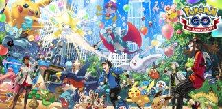 Pokemon GO rocznica