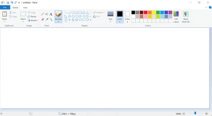 paint, wordpad, notatnik, windows 10,