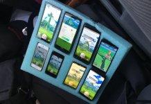 Pokemon GO 8 smartfonów
