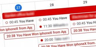 gmail, google, calendar, kalendarz, wydarzenia, event, iphone,