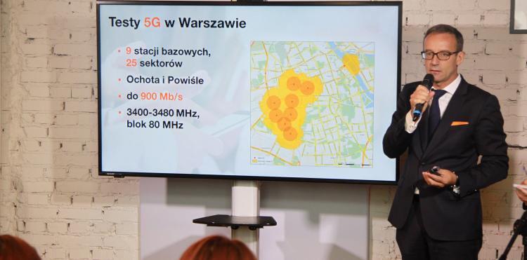5G Orange Warszawa