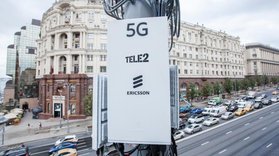 Ericsson 5G Moskwa