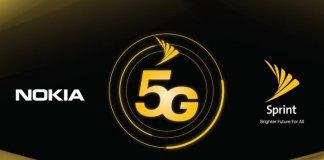 Nokia 5G Sprint
