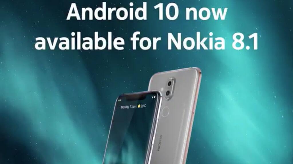 Nokia 8.1 Android 10