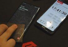 Samsung czytnik linii papilarnych