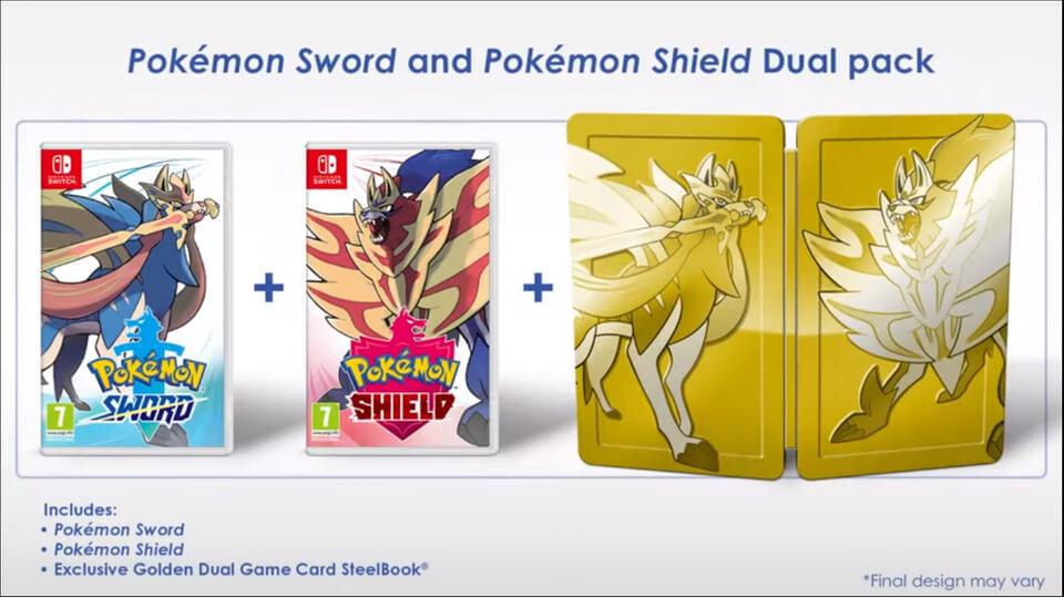 pokemon, sword, shield, nintendo, przedsprzedaż, pre-order, switch,