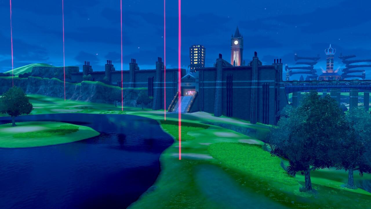 Jak nazywa się otwarty świat w Pokemon Sword & Shield?