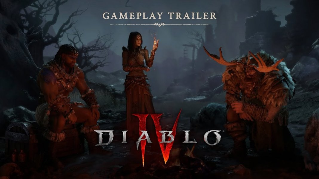 Diablo 4, gamplay, blizzard, blizzcon,