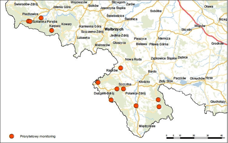 Orange góry mapa 2
