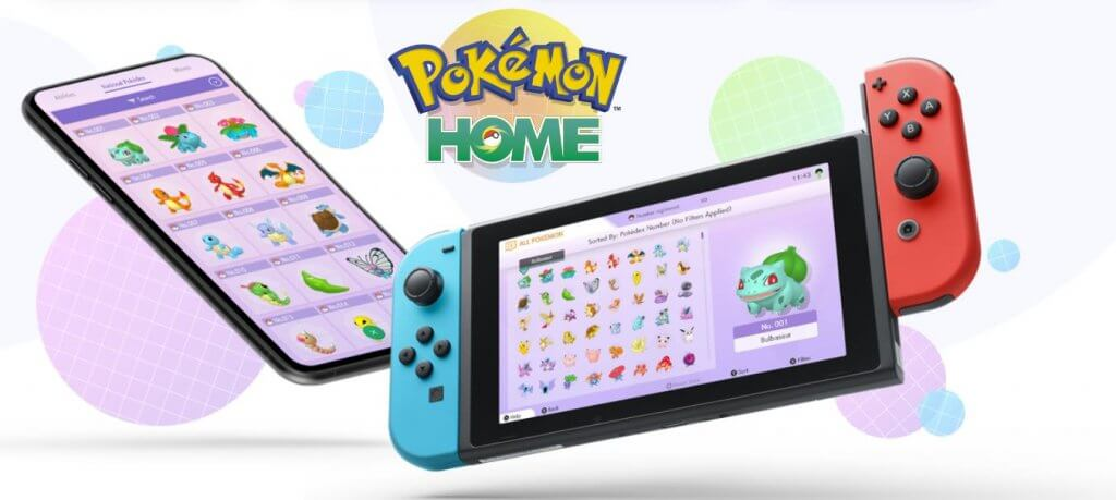 pokemon, nintendo, switch, home, sword, shield,