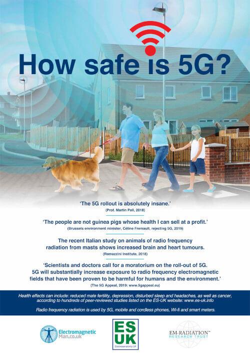 plakat anty 5G