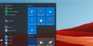 Windows 10X, ikony,