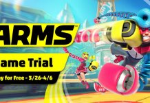 ARMS Nintendo Switch trial