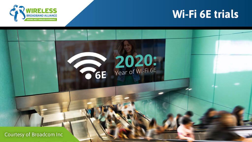 Wi-Fi 6E trials