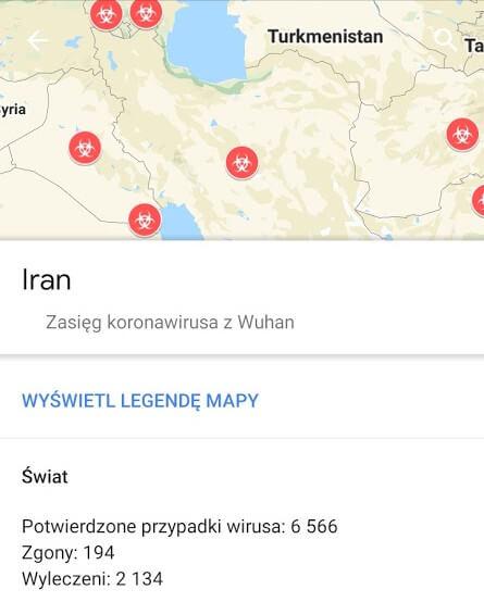 Iran koronawirus