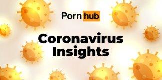 koronawirus, pornhub, epidemia,