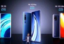 Xiaomi Mi 10, pro, android,