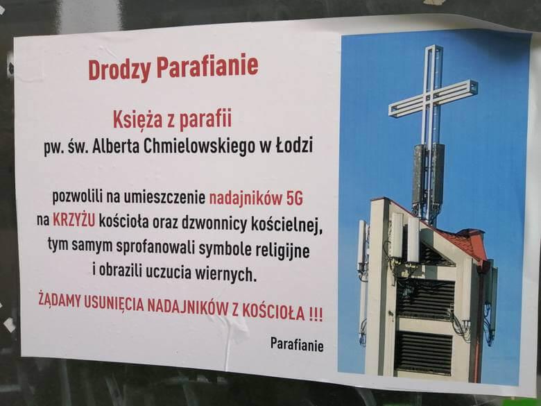 Łódź parafianie 5G