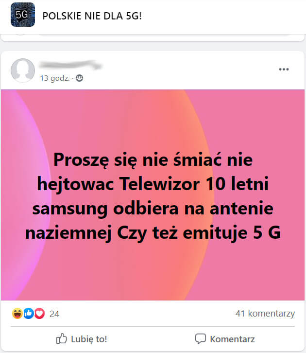 5G telewizor