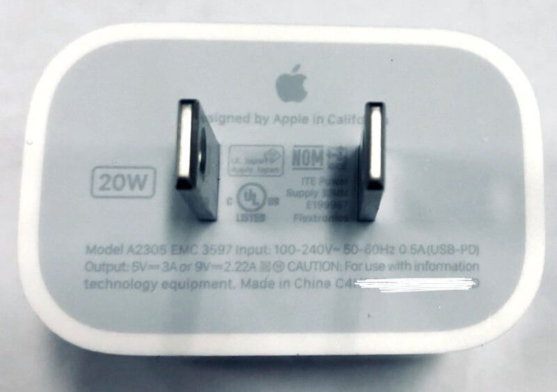 Apple ładowarka 20 W