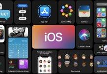 apple ios 14, wwdc, Kropka w iOS 14