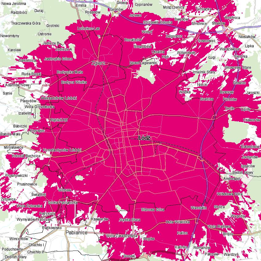 T-Mobile 5G Łódź