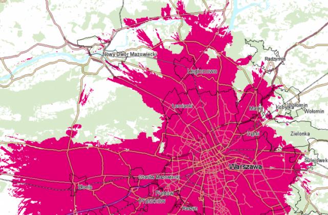 T-Mobile 5G Warszawa