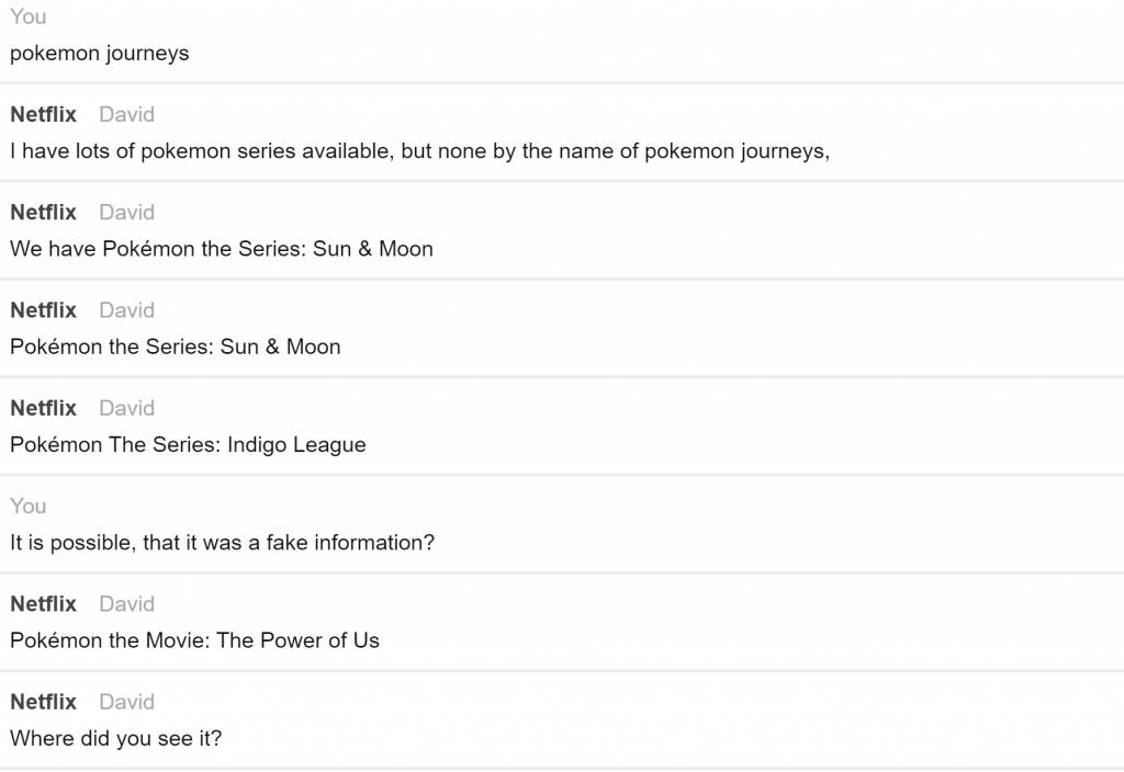 pokemon journeys, netflix, fake news,