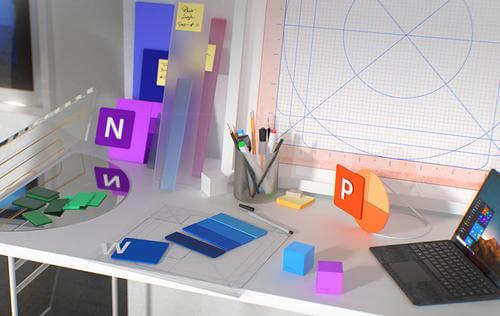 Microsoft Office, fluent desing, zmiany,