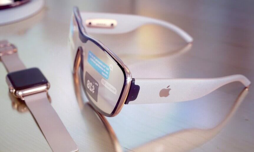Okulary Apple Glass, apple, glass, vr, ar,