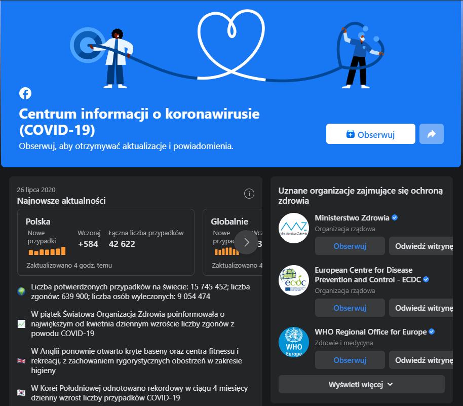 Centrum informacji o koronawirusie