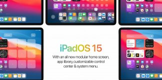 apple iPadOS 15, koncept, Parker Ortolani,