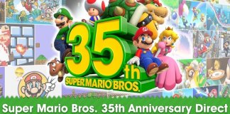 super mario, nintendo, 35 lat, mario bros, switch,