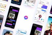 Facebook Messenger, nowa ikona, gradient, fioletowy, Instagram,