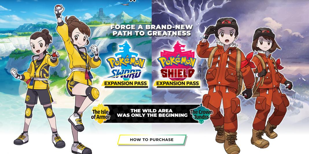 pokemon sword & shield, the isle of armor, the crown tundra, nintendo, pokemon home, pokemon go,