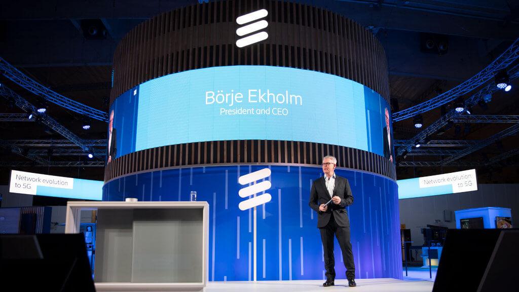 Borje Ekholm Ericsson