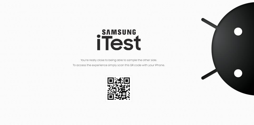 iTest, Samsung, Apple,