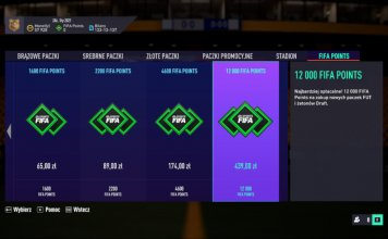 FIFA Ultimate Team - punkty 2