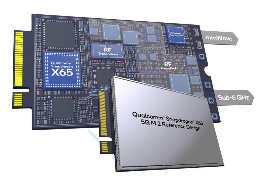 Qualcomm Snapdragon modem 5G M.2