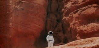 miasto na Marsie