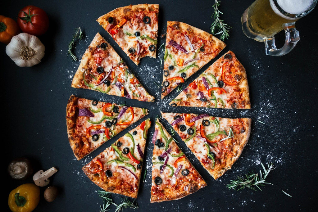 pizza network slicing